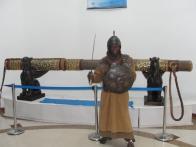 Sword wielding Gayle