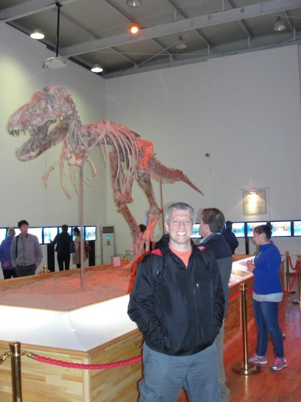 Stolen Dino returned!